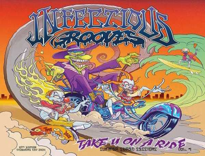 Infectious Grooves is back with Take U On a Ride EP! New lineup announced!