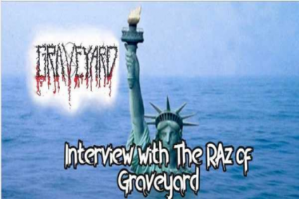Interview: The RAz of Graveyard talks Тhe 6th Extinction album, interviewing Chuck Schuldiner, Power Surge FM and more!