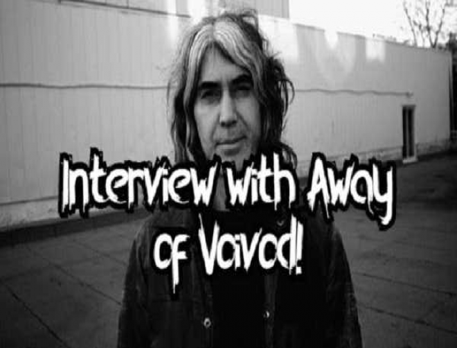 Interview with Away of Voivod: New live album will be released this year!