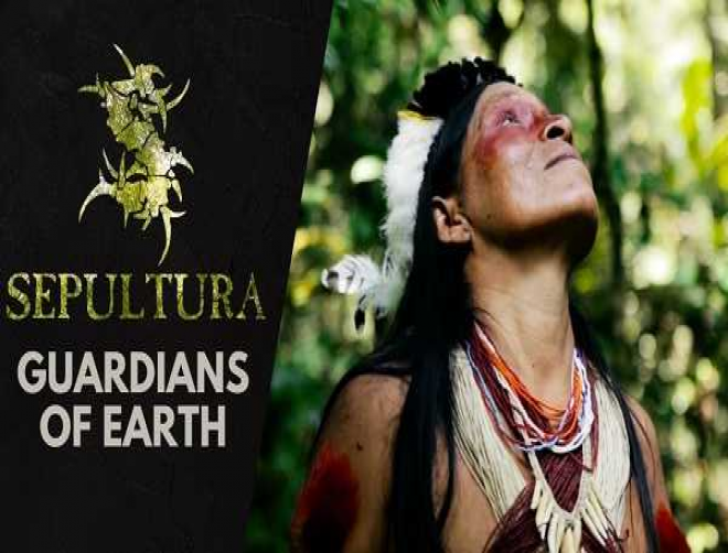 Sepultura's Guardians of Earth video spreads awareness for the preservation of the Amazon rain forest!