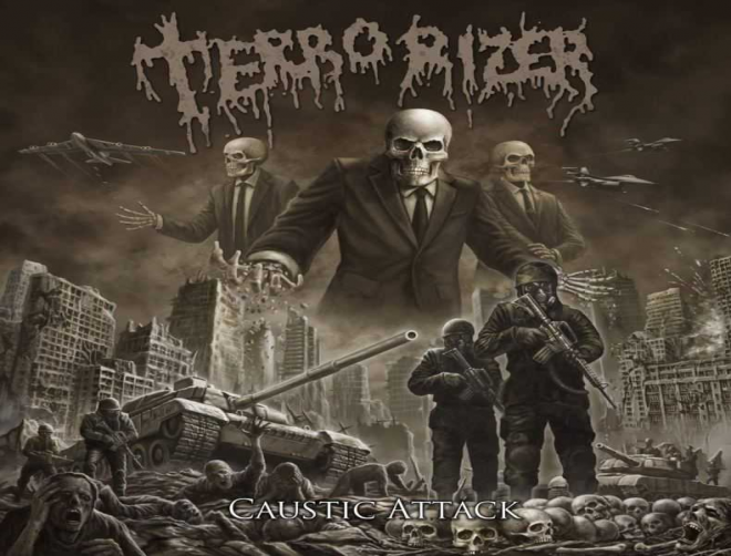 Terrorizer's latest album - Caustic Attack is bone crushing! (review)