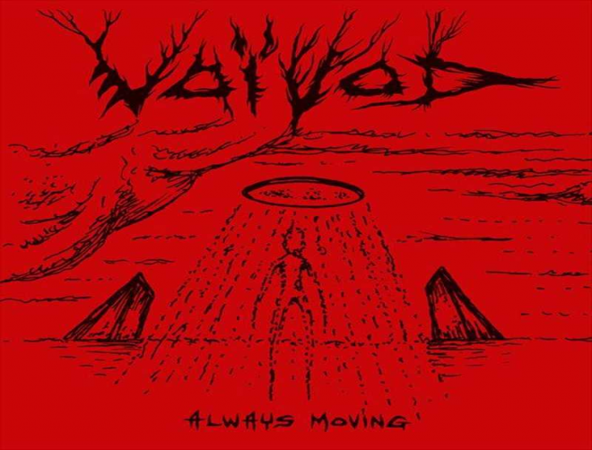 Voivod's new song Always Moving is trippy as hell!